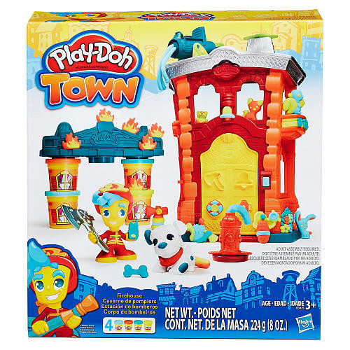 Play-Doh Town Firehouse Set