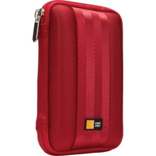Case Logic QHDC-101 Portable Hard Drive Case - Red