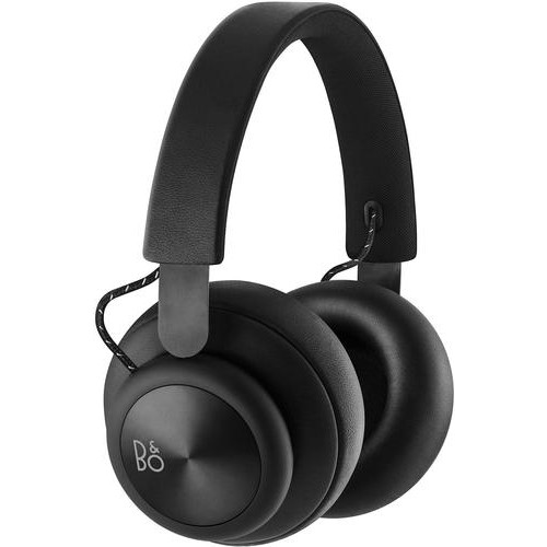B&O PLAY by Bang & Olufsen - Beoplay H4 Wireless Over-the-Ear Headphones - Black