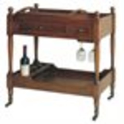 Wayborn Serving Cart in Brown