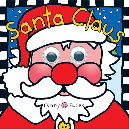 Funny Faces Santa Claus Book