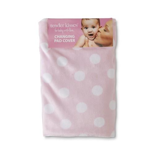 Tender Kisses Infants' Changing Pad Cover - Polka Dot