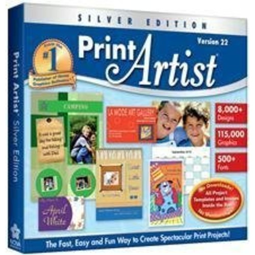 Print Artist 22 Silver Edition (Jewel Case)
