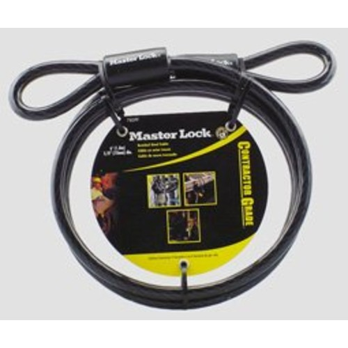 Master Lock 78DPF Cable With Looped Ends