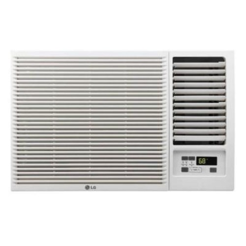 LG Electronics 23,000 BTU 230/208-Volt Window Air Conditioner with Cool, Heat and Remote