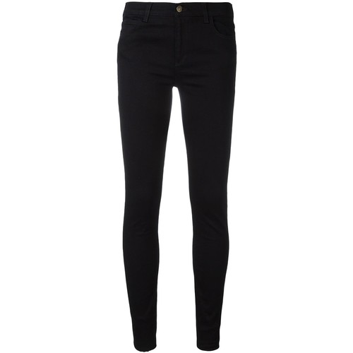GUCCI Tiger Embroidered Skinny Jeans