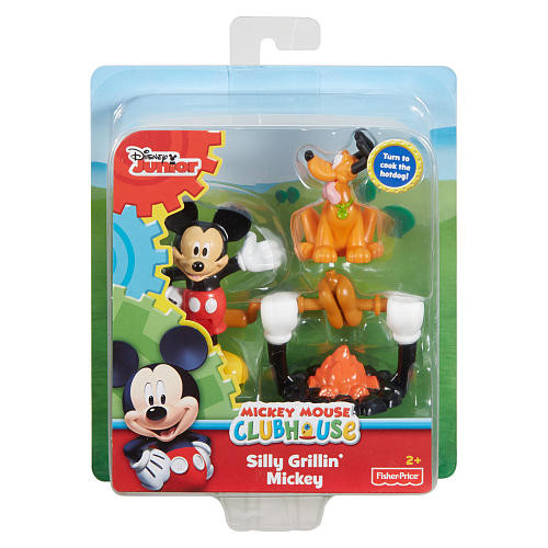 Disney Junior Mickey Mouse Clubhouse Figure Set - Silly Grillin' Mickey