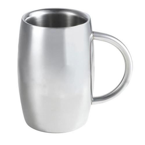 Visol Emerald 14 oz. Stainless Steel Double Walled Beer Mug