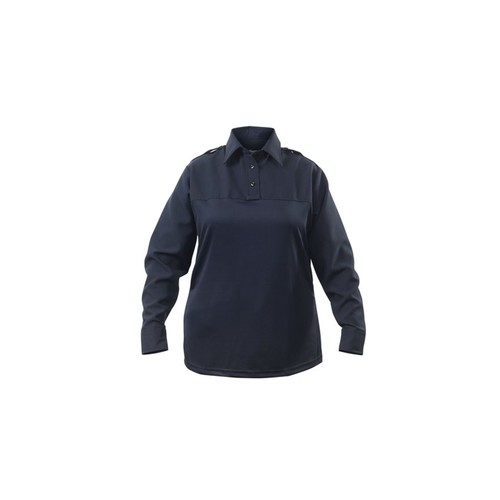 Elbeco Womens Navy, Uv1 Undervest Long Sleeve Shirt