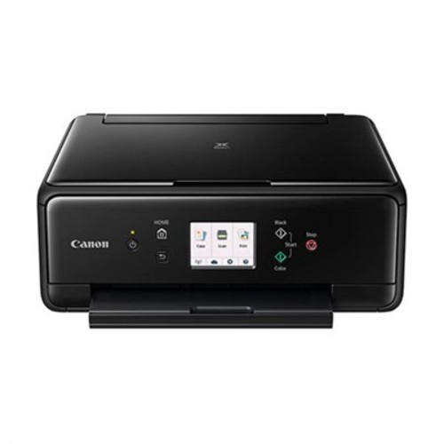 Canon PIXMA TS6020 Compact Wireless All-in-One Auto Duplex Printer (Black)