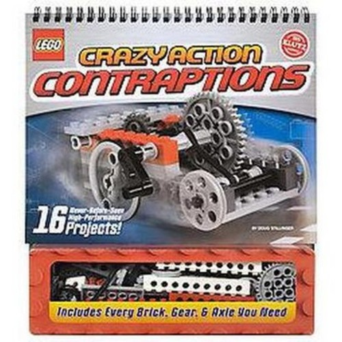 Klutz LEGO Crazy Action Contraptions Craft Kit [Multicolor, None]