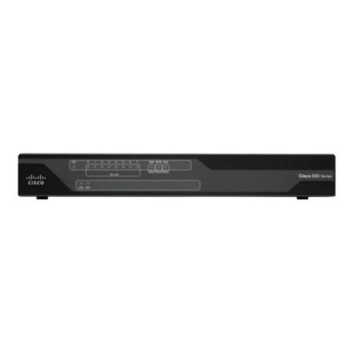 Cisco 891F - router - ISDN/Mdm - desktop rack-mountable