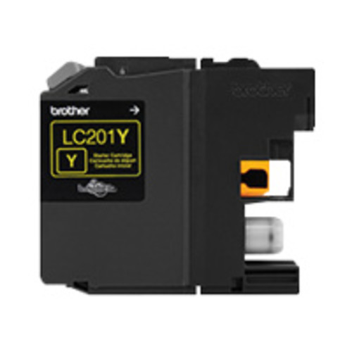 Brother LC201Y - yellow - original - ink cartridge