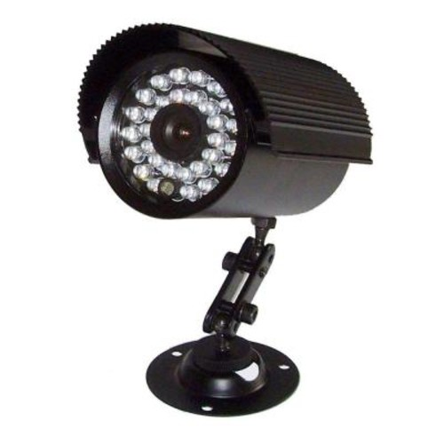 SeqCam Wired Weatherproof Night Vision Indoor/Outdoor Color Security Camera