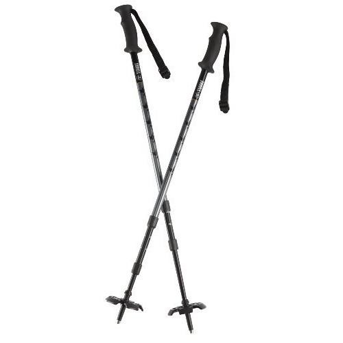 Tubbs 3 Piece Poles [Black/Grey, One Size]
