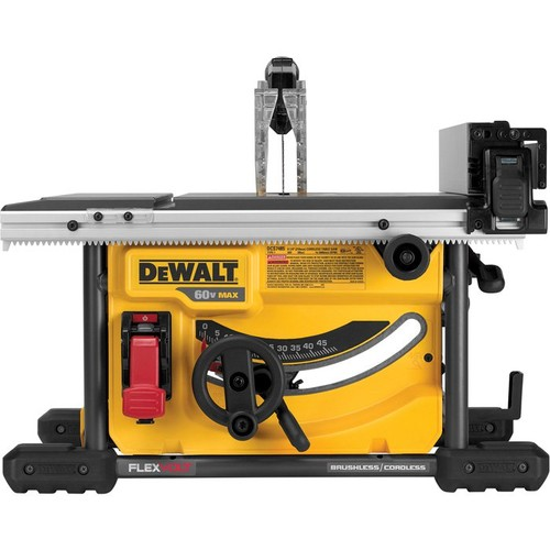 DEWALT FLEXVOLT 60 Volt MAX Brushless 8 1/4in. Table Saw Kit  Tool Only,