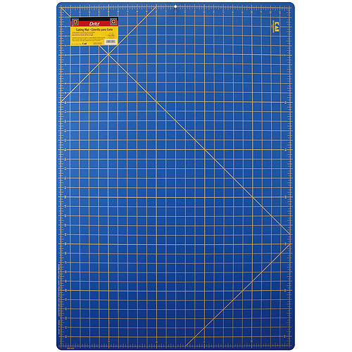 Dritz 24-Inch-by-36-Inch Gridded Cutting Mat