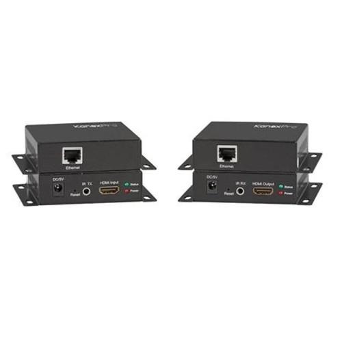 KanexPro NetworkAV HDMI over IP Extender Transmitter/Receiver Set