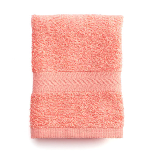 Martex Ringspun Wash Cloth [Coral, Wash Cloth]