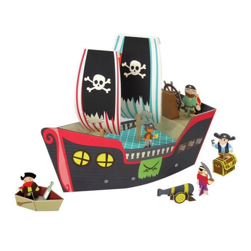 Krooom Pirate Ship Playset