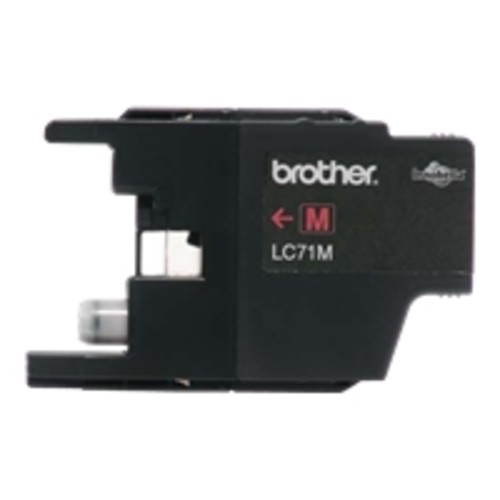 Brother LC71M Brother Innobella LC71M Standard Yield Ink Cartridge - Magenta - Inkjet - 300 Page - 1 Each
