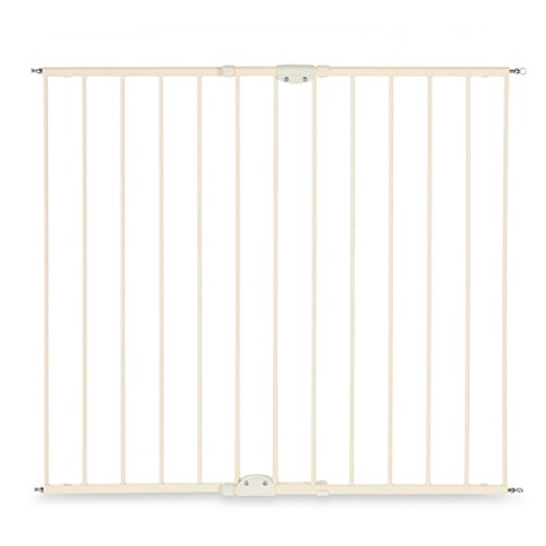 North States Tall Easy Swing & Lock Stairway Gate in Linen