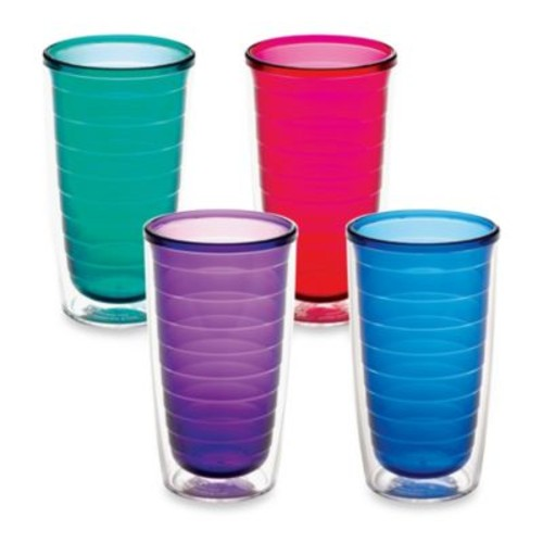 Tervis 16-Ounce Assorted Color Tumblers (Set of 4)