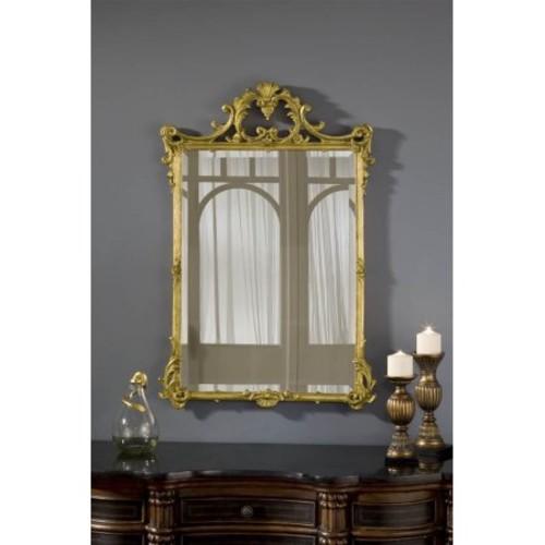 English Mirror in Gold Leaf Finish