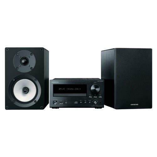Onkyo CS-N755 Mini Hi-Fi System - 26 W RMS - iPod Supported - CD Player - 1 Disc(s) - 40 Channel(s) - AM, FM - 2 Speaker(s) - CD-DA, MP3, WMA, FLAC, WAV, Ogg Vorbis, AAC, Apple Lossless, WMA Lossless - Ethernet - USB - Remote Control - DLNA CertifiedShow More +