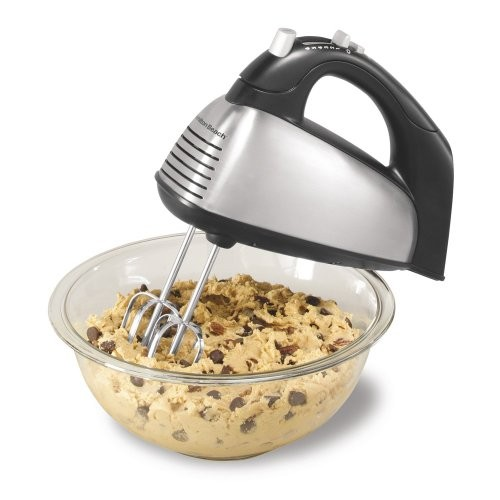 Hamilton Beach 62650 Classic 6 Speed Hand Mixer - Brushed Stainless Steel