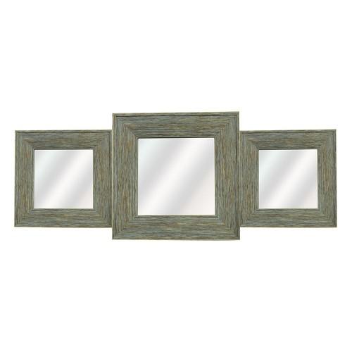 3-piece Square Wall Mirror Set