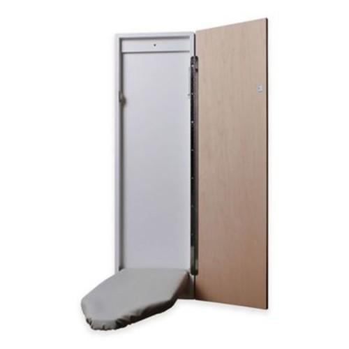 Handi-Press SMM421 Surface Mount Ironing Center with Flat Maple Door