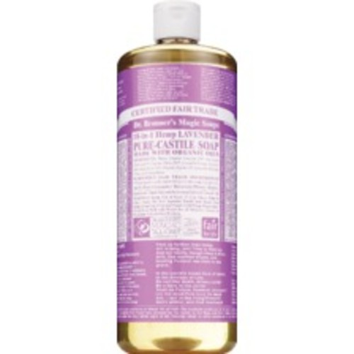 Dr. Bronner's Magic Soaps Lavender Pure-Castile Liquid Soap