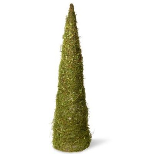 36in Garden Accents Cone Tree with Moss