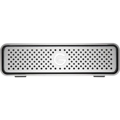 G-Technology - G-DRIVE 4TB External USB 3.0 Portable Hard Drive - Silver
