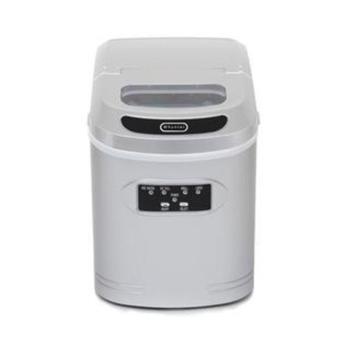 Whynter IMC-270MS Freestanding Compact Portable Ice Maker with 27 lbs Daily Ice Making Capacity Auto Shutoff 1.5 lbs Storage High Eff