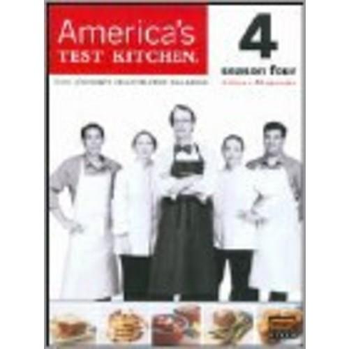 America's Test Kitchen: The Complete 4th Season [4 Discs] [DVD]