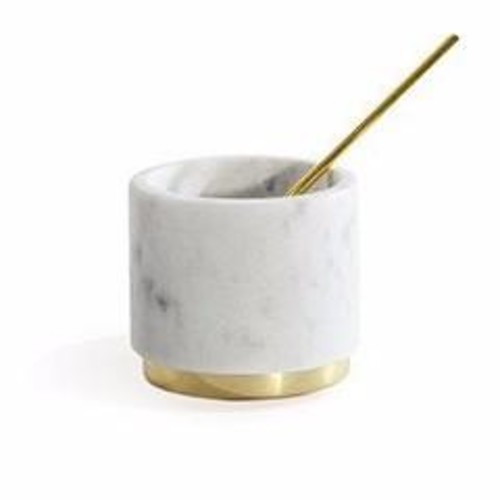 Mara Marble Sugar Pinch Pot in Various Colors design by Hawkins New York - Copper [Material : Copper]