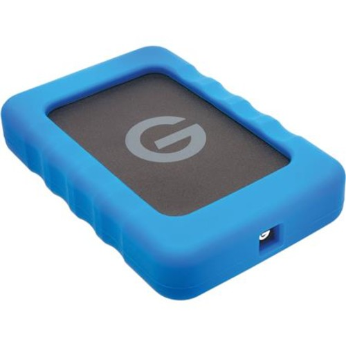 G-Technology 1TB G-DRIVE ev RaW USB 3.0 SSD Drive with Rugged Bumper 0G04759