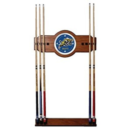 NCAA United States Naval Academy Billiard Cue Rack with Mirror