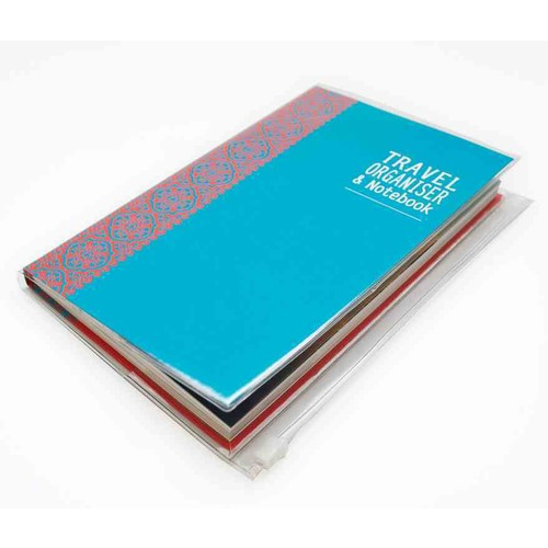 Travel Organiser & Notebook (Notebook / blank book) [Travel Organiser & Notebook Notebook / blank book]