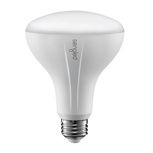 Sengled Element Classic 65W Equivalent Soft White BR30 Dimmable LED Light Bulb, White