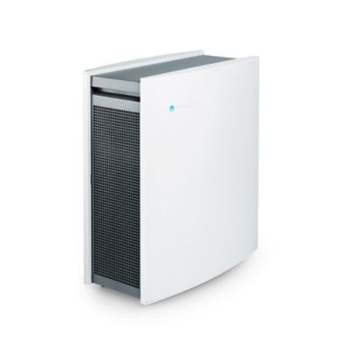 Blueair Classic 405 Air Purifier with HEPASilent Technology 434 sq. ft. WiFi Enabled in White/Grey