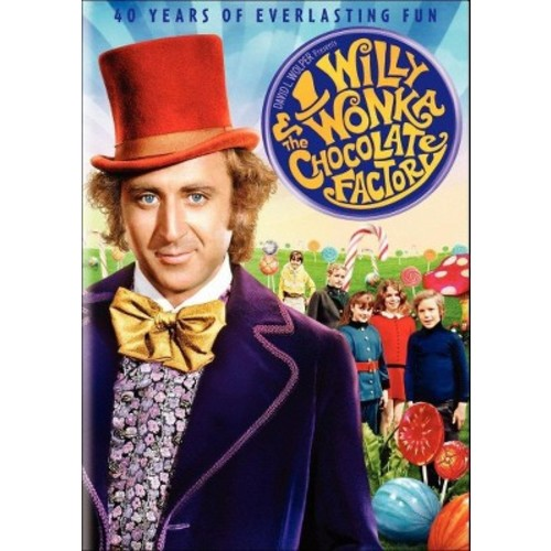 Willy Wonka & Chocolate Factory (40th Anniversay) (dvd_video)