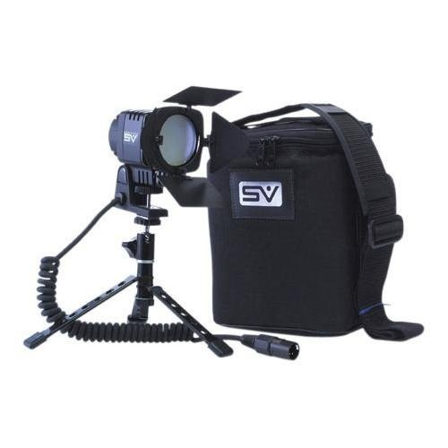Smith-Victor SV-950, Interview DC On Camera Video Light Kit with Battery and Charger
