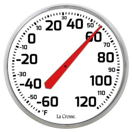 La Crosse Technology 8.5 in. Round Dial Thermometer