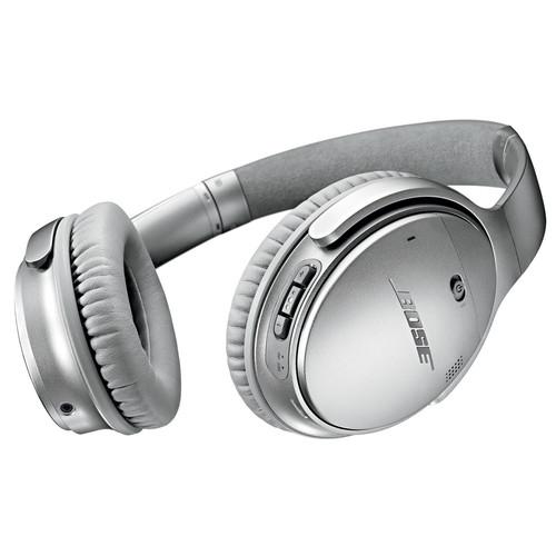 Bose QuietComfort 35 Wireless Headphones - Silver 759944-0020