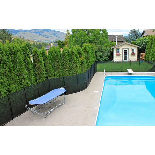 Water Warden 4' Pool Safety Fence [4-Feet by 12-Feet]