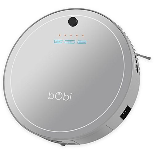 bObi Pet Robotic Vacuum Cleaner in Silver