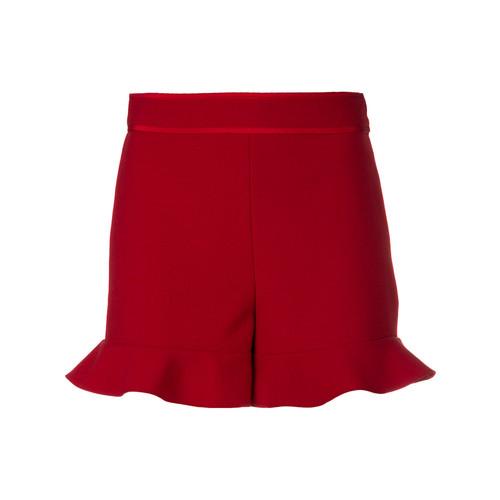 RED VALENTINO Flared Hem Shorts